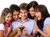Rede social — Foto Stock