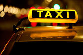 Taxi cab — Stock Photo