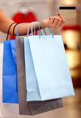 Shopping bags — Stockfoto