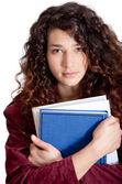 年轻的女学生 — 图库照片