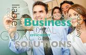 Gráfico de negocios — Foto de Stock