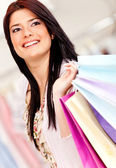 Compra mujer — Foto de Stock