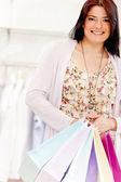 Female shopper — Foto de Stock