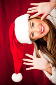 Fun Mrs Claus — Stock Photo