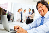 Corporate business worker — Stock Photo