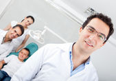 Male dentist — Stock Photo