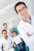 Pediatric dentist — Stockfoto
