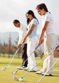Golf players — Stock Photo