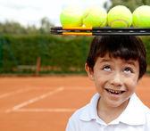 Tenista masculino — Foto de Stock