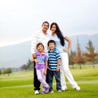Beautiful happy family — Stock Photo #8901754