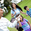 Family playing golf — Stock Photo #8901758