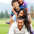 Family having fun — Stock Photo #8901759