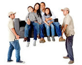 Family moving — Stock Photo