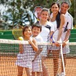 Foto Stock: Tennis players
