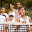 Girl tennis player — Stock Photo #8927494