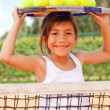 Female tennis player — Foto Stock