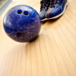 Bowling kit — Stock Photo
