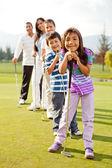 Jugadores de golf — Foto de Stock
