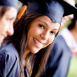 Woman in her graduation — Stock Photo #8954017