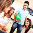 Group of bowling — Stock Photo