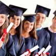 Royalty-Free Stock Photo: Group of graduate student