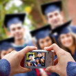 Graduation picture — Stockfoto