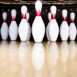 Bowling pins — Stock Photo #8954068