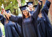Happy graduation — Stock Photo