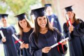 Grupo de graduación — Foto de Stock