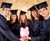 Spaargeld voor studie — Stockfoto