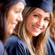 Stock Photo: Beautiful female graduate