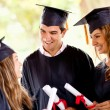 Graduation students — Stockfoto