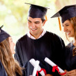 Graduation students — Stock Photo #8963155