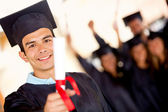 Male graduate — Stock Photo