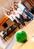 Man bowling — Stockfoto