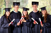 Graduation group — Foto Stock