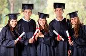 Graduation group — Stock Photo