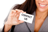Business contact — Stock Photo
