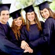 Graduation students — Stock Photo
