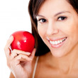 Healthy eating woman — Stock Photo #9043043