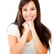 Woman smiling — Stock Photo #9066835