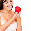 Healthy eating woman — Stock Photo #9066837