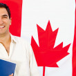 Stock Photo: Studying in Canada