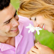 Romantic couple - Foto Stock