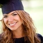 gradutation ucznia — Zdjęcie stockowe