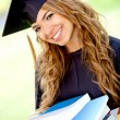 Stock Photo: Graduation student