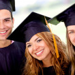 Graduation group — Stock Photo #9067006