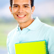 Happy male student — Stock Photo