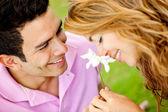 Romantyczna para — Zdjęcie stockowe
