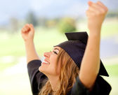 Succeeding in education — Stock Photo